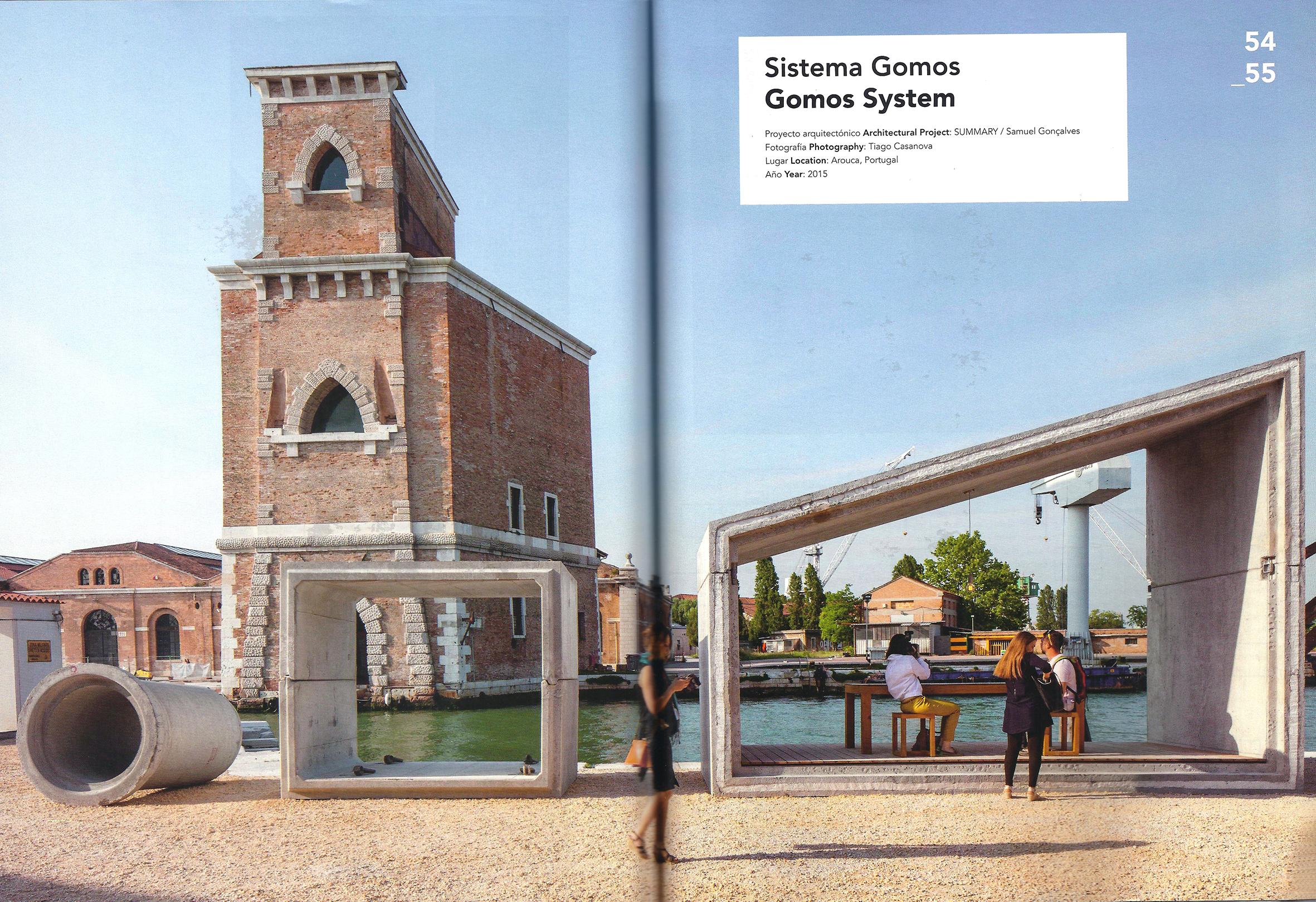 Gomos House dwelling building system Summary Concrete Architecture la biennale